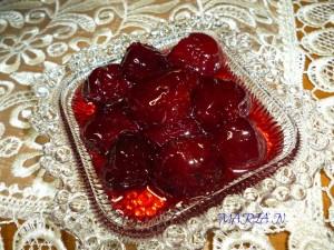 Κερασι ή βυσσινο γλυκο κουταλιου0